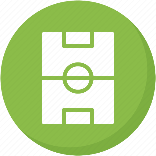 green, soccer, sports, square icon