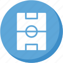 lightblue, soccer, sports, square icon