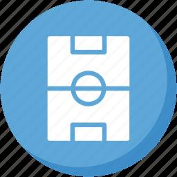 lightblue, soccer, sports, square icon