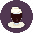 chocolate, coffee, drink, food, hot, mug icon