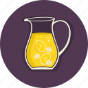 citrus, drinks, food, lemon, summer, summertime, sweet icon