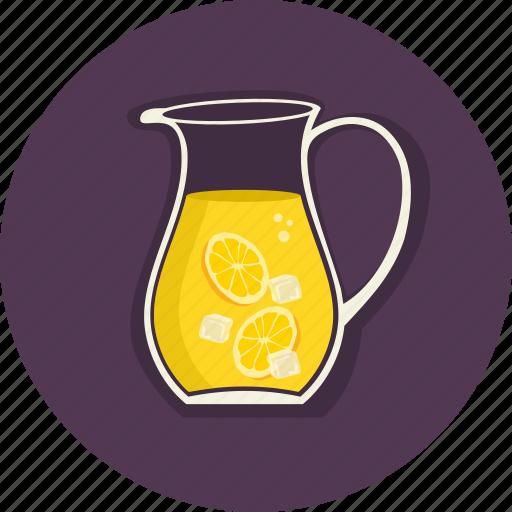 citrus, drinks, food, lemon, summer, summertime, sweet icon