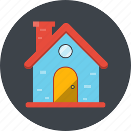 address, apartment, building, home, house, location icon