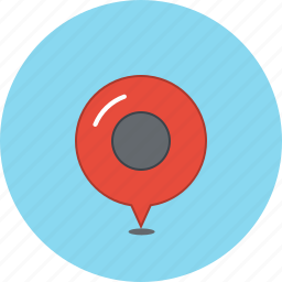 business, gps, listing, location, map, pin, pointer icon