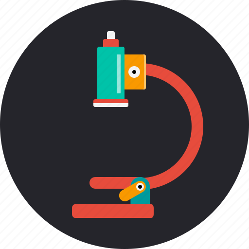experiment, healthcare, laboratory, medical, microscope, research, science icon