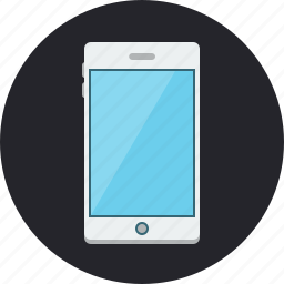 business, contact, iphone, mobile, mobile phone, phone, smartphone icon