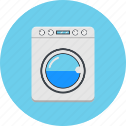 device, electronics, gadget, home appliance, technology, washing machine icon