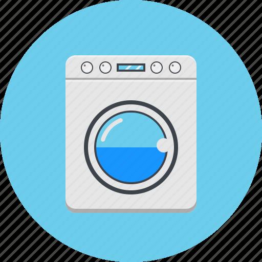 device, electronics, gadget, home appliance, technology, washing machine icon