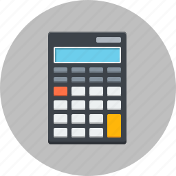 accounts, business, calculator, finance, gadget, office icon