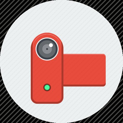 cam, camcorder, movie, multimedia, recording, video, video camera icon