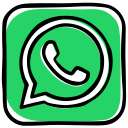 app, communication, media, messenger, phone, social, speech bubble, whatsapp icon