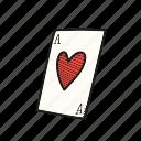 ace, card, casino, poker icon