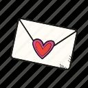 envelope, letter, mail, message