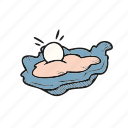 food, oyster, valentine icon