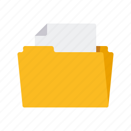 archive, business, document, file, folder, manila folder, office icon