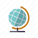 business, earth, global, globe, office, travel, world icon