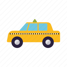 business, cab, office, taxi, transportation, travel, vehicle icon