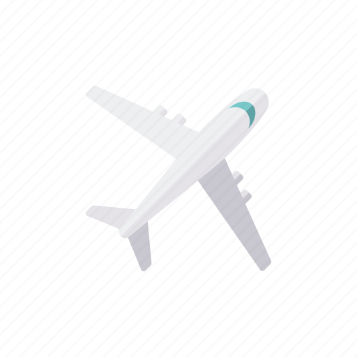 airplane, business, jet, office, transportation, travel icon