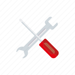 adjustments, business, office, screwdriver, settings, tools, wrench icon
