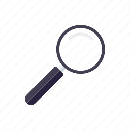 business, magnifying glass, office, search engine, searching icon