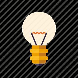 business, creativity, ideas, lamp, light bulb, office icon