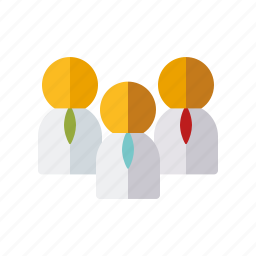 business, businessmen, group, office, partnership, team, teamwork icon