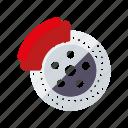 automotive, brake disc, car, parts, repair, service, transport icon