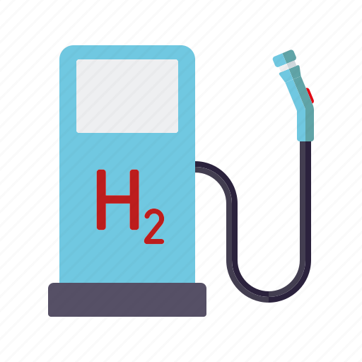 automotive, car, fuel pump, hydrogen, service, transport icon