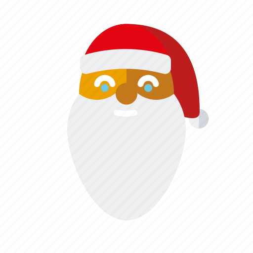 bearded, christmas, holidays, man, santa claus, season, winter icon