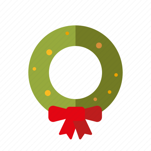christmas, decoration, holidays, holly, season, winter, wreath icon
