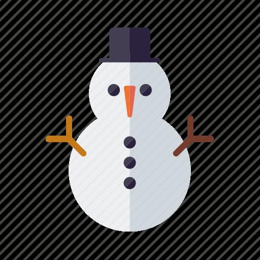 christmas, frosty, holidays, season, snow, snowman, winter icon
