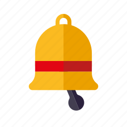 bell, christmas, decoration, holidays, season, winter icon