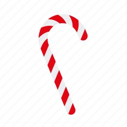candy cane, christmas, holidays, season, sweet food, sweets, winter icon