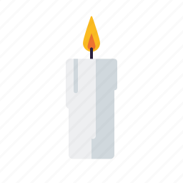 candle, christmas, decoration, flame., holidays, season, winter icon