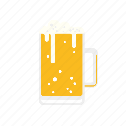 alcohol, beer, beverage, drink, glass, lager icon