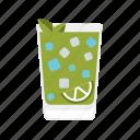 alcohol, cocktail, drink, beverage, caipirinha, lime icon