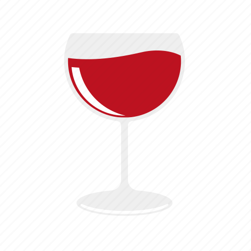 Alcohol, beverage, drink, glass, red, wine icon - Download on Iconfinder