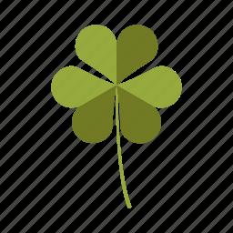 botany, clover, leaf, nature, plant, tree icon