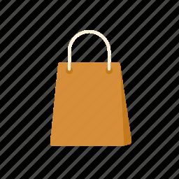 commerce, paper bag, retail, shop, shopping, shopping bag, trade icon