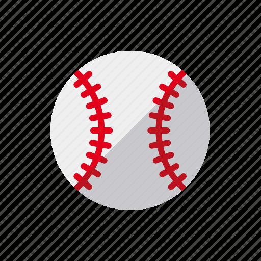 american, ball, baseball, seam, sports icon