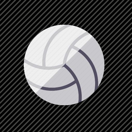 ball, handball, sports, volleyball icon