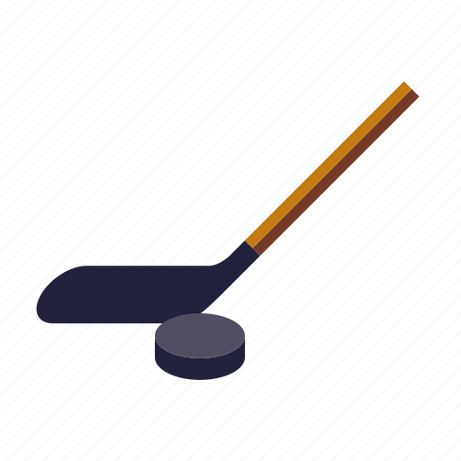 ice hockey, puck, sports, stick icon