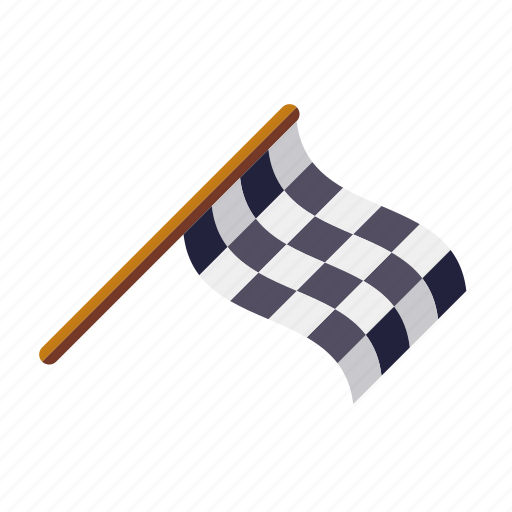 checkered, finish, flag, motor sports, race, racing, sports icon