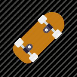 fun sport, skateboard, skating, sports icon