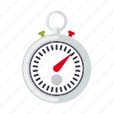 equipment, sports, stopwatch, time, timer, watch icon