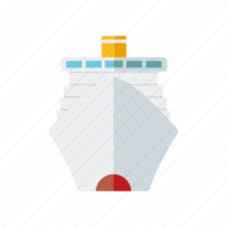 cruise, cruise ship, holidays, ship, tourism, travel, vacations icon
