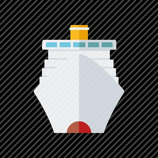 Travel, holidays, vacations, cruise, cruise ship, tourism, ship icon