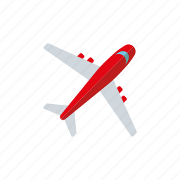 airplane, jet, plane, tourism, transportation, travel, vacations icon