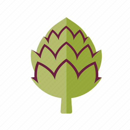 artichoke, food, freshness, fruit, groceries, vegetable icon
