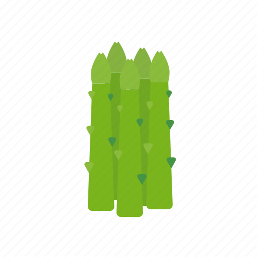 asparagus, food, green, vegetable icon